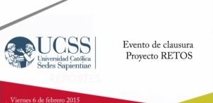 Presentación del Proyecto RETOS(2014)